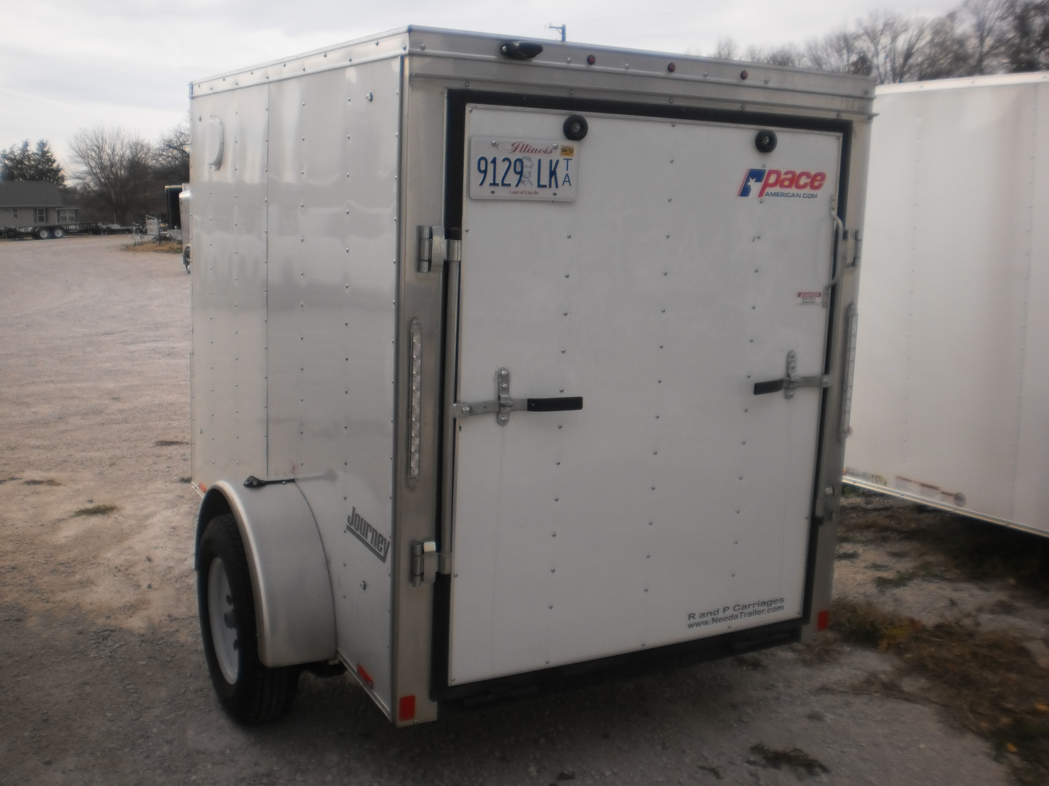 Rental trailers at r and p carriages 5 x 8 rental trailer sciox Choice Image