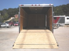 85x20 black flat front look                                 trailer