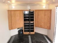 Custom Cabinet with Tool Box