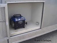 Generator Door Open