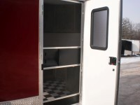 RV Side Door with Screen and Window