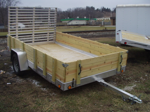 R And P Carriages Open Trailer Flooring And Rails