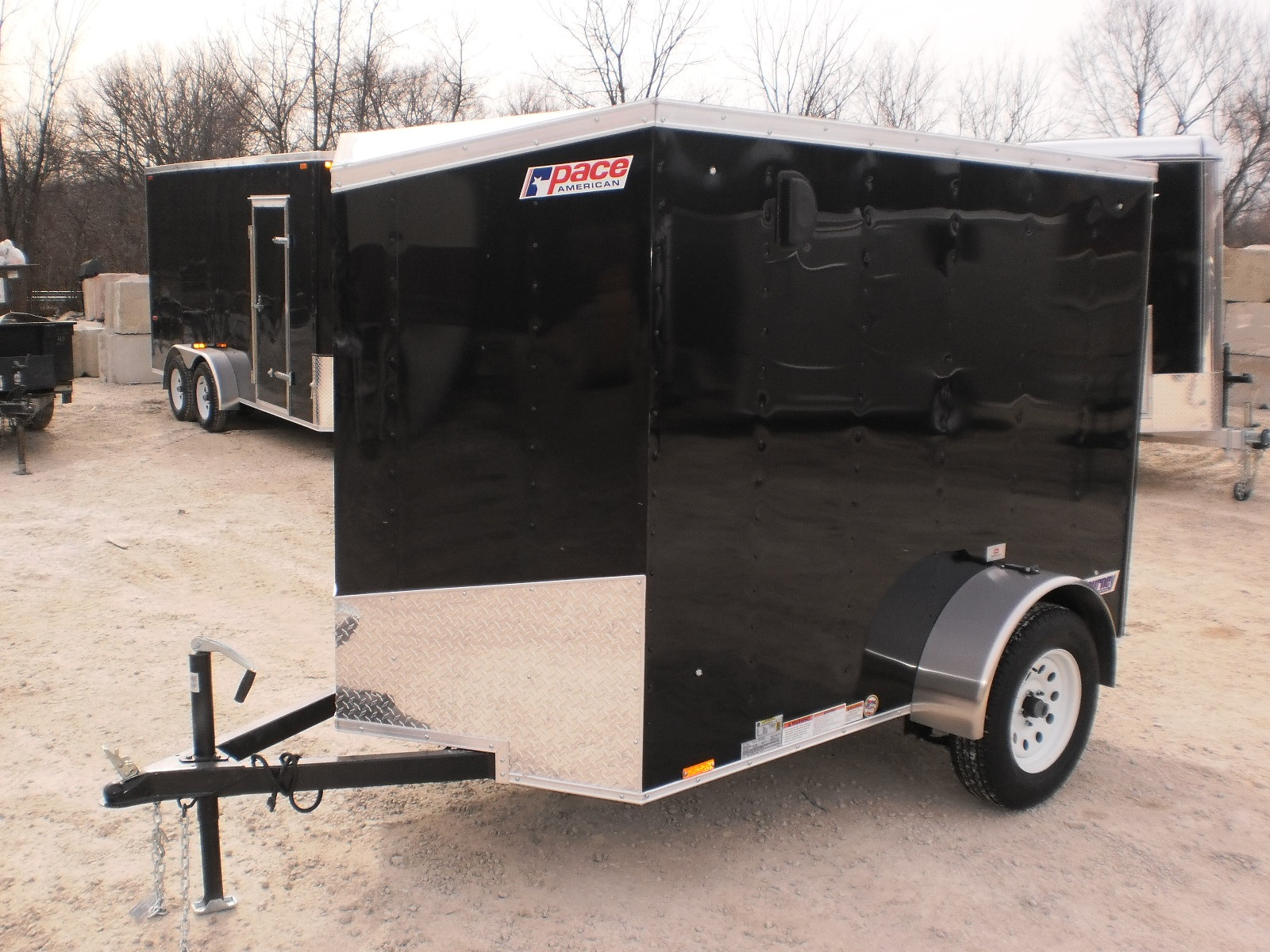 Pace American 5 Wide Journey Cargo Trailers