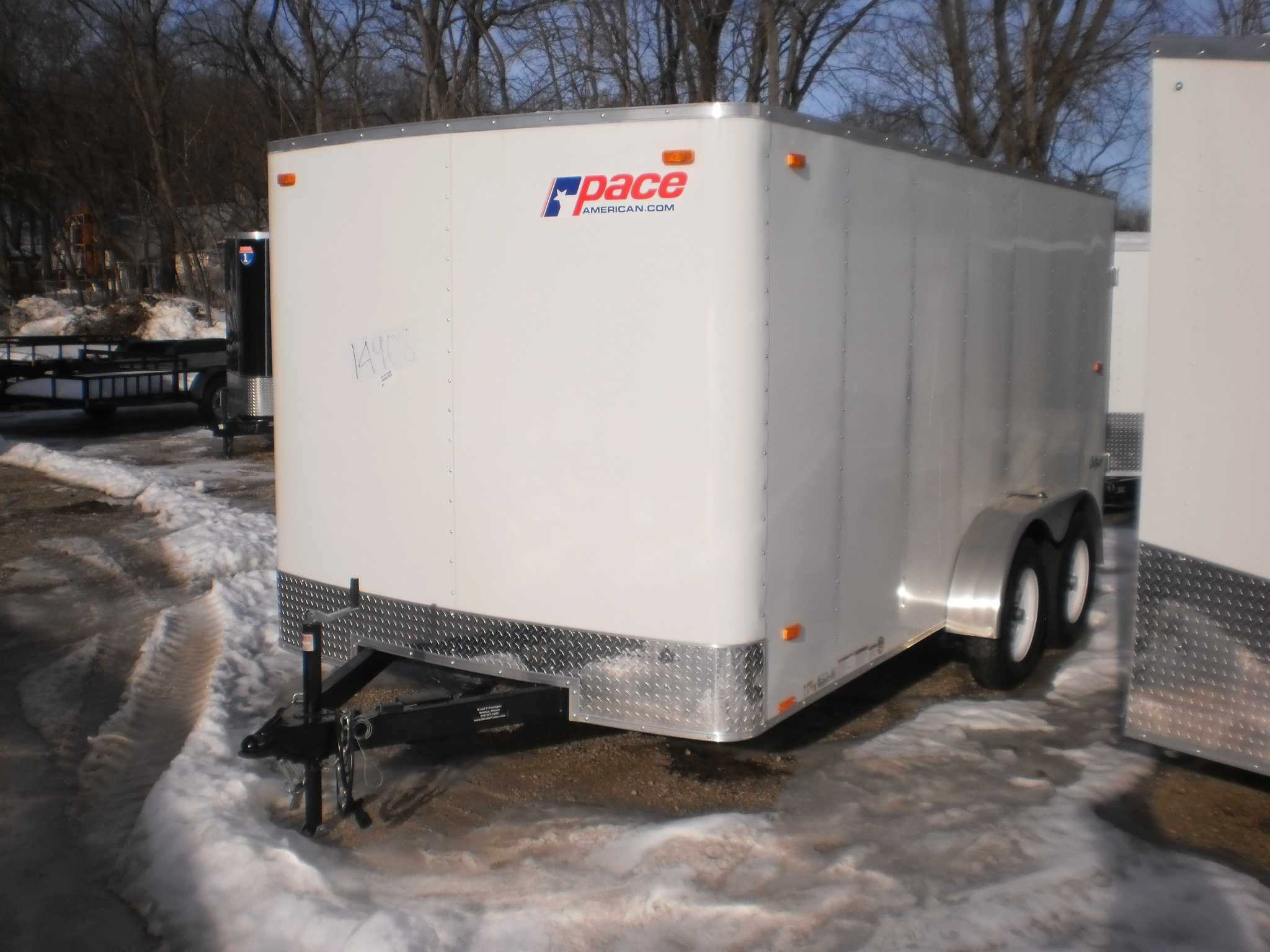 Pace 7 Wide Outback Enclosed Cargo Trailer