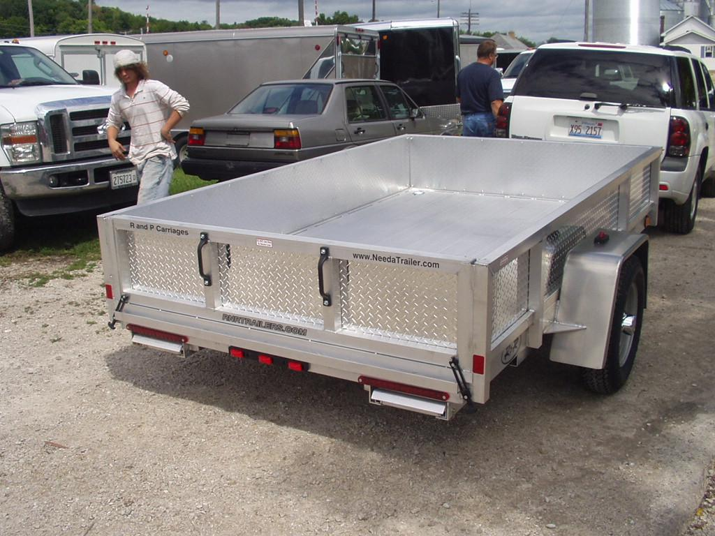 R and p carriages trailers parts service and rentals r and r all aluminum open utility trailer sciox Choice Image