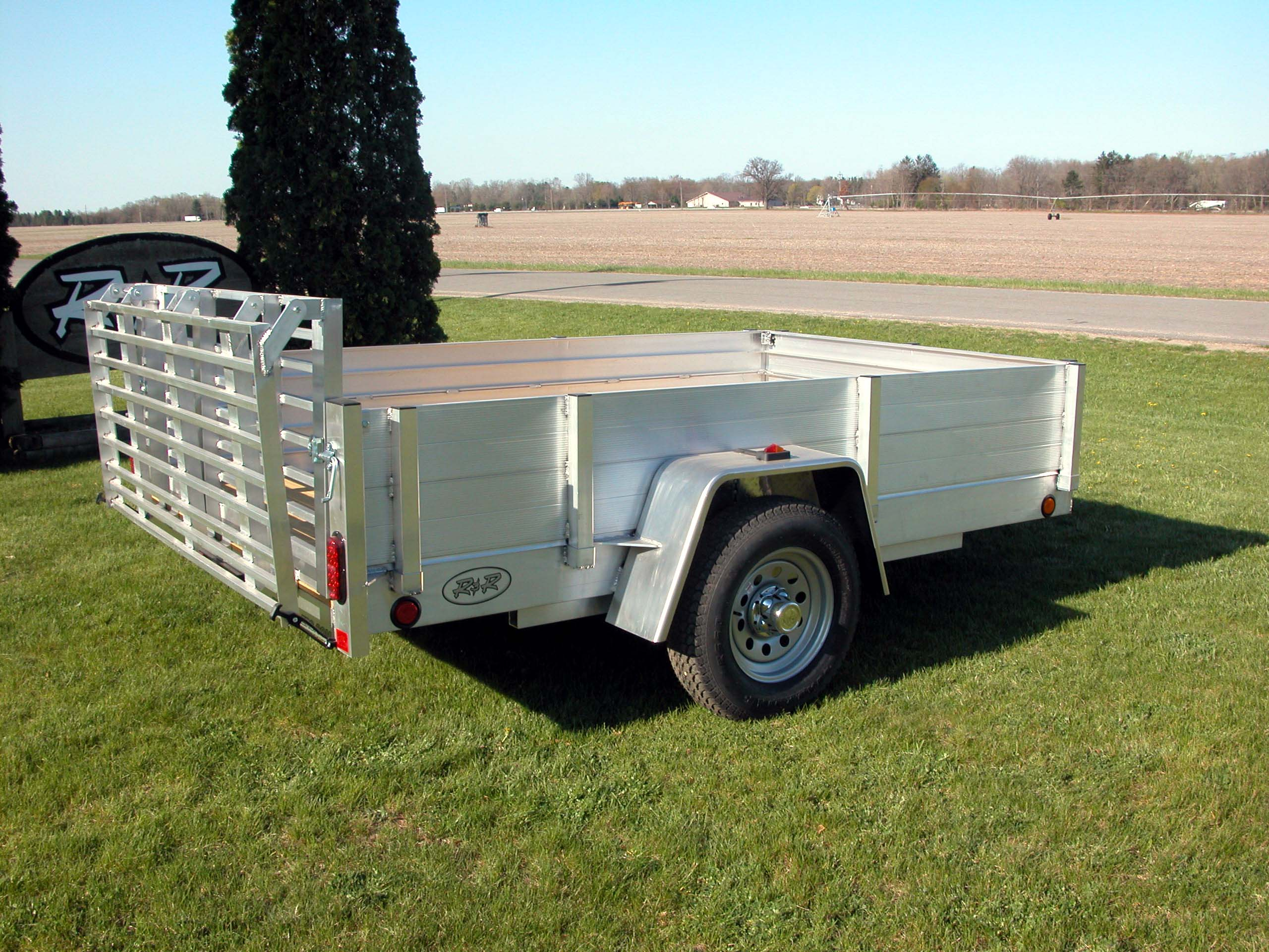 R and p carriages trailers parts service and rentals aluminum plank siding utility trailer sciox Choice Image