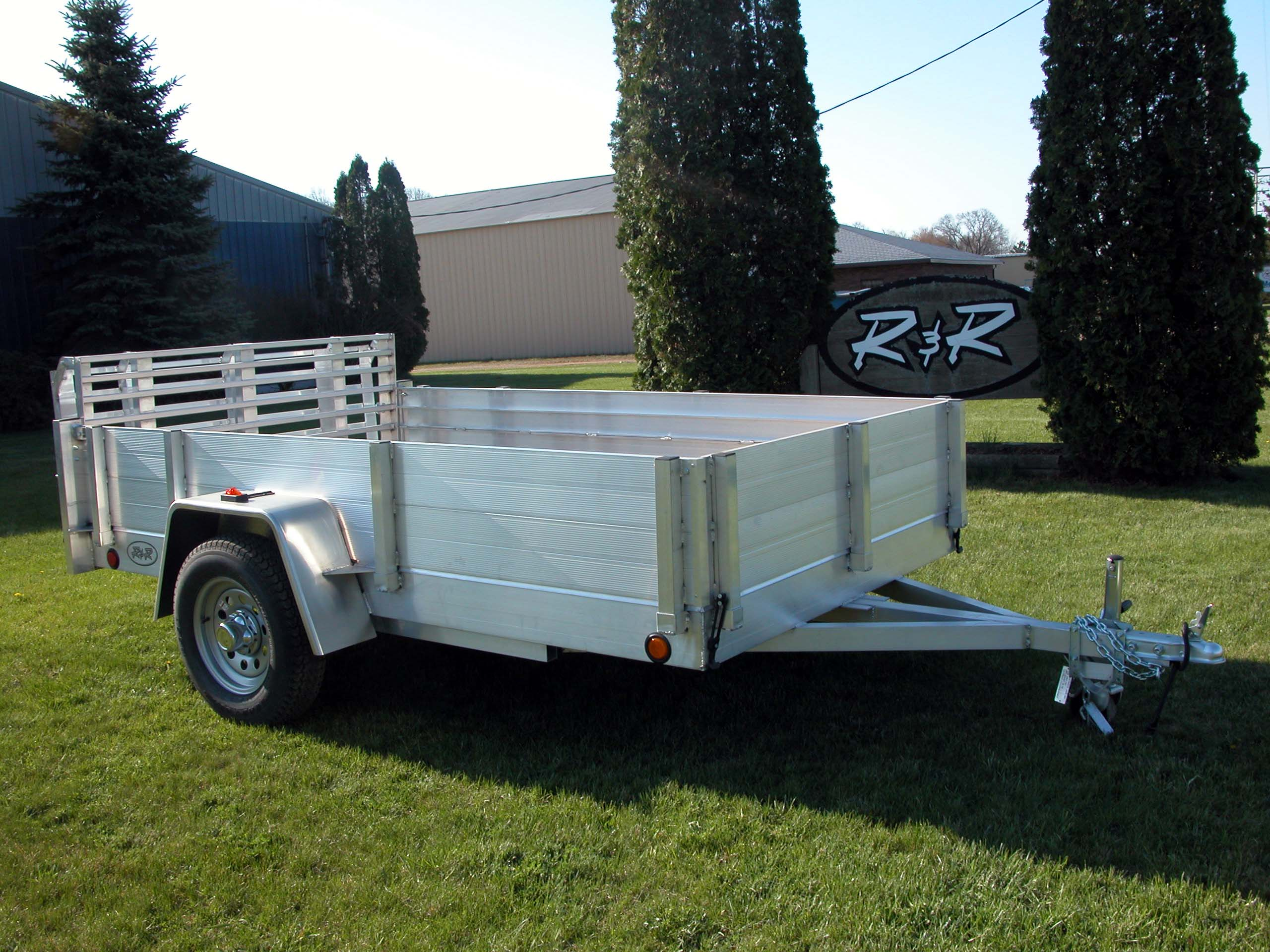 R and p carriages trailers parts service and rentals aluminum plank siding utility trailer with solid aluminum plank sciox Choice Image