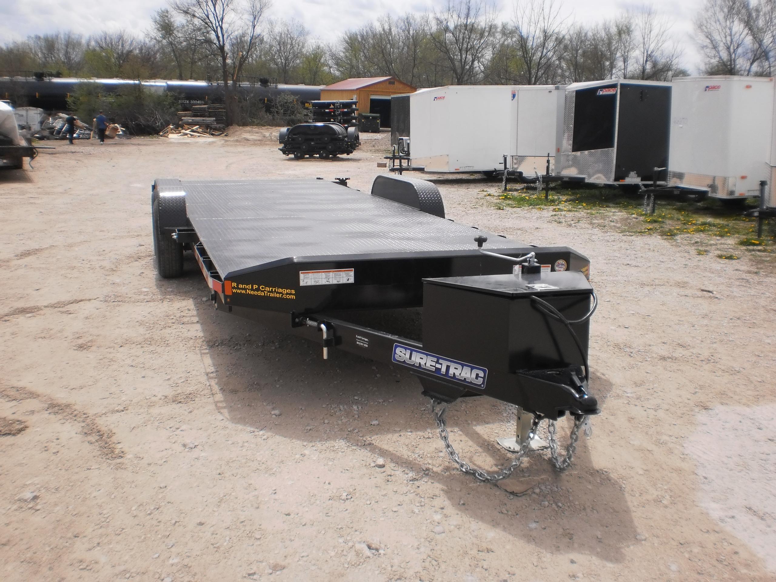 Sure Trac Tilt Bed Car Hauler