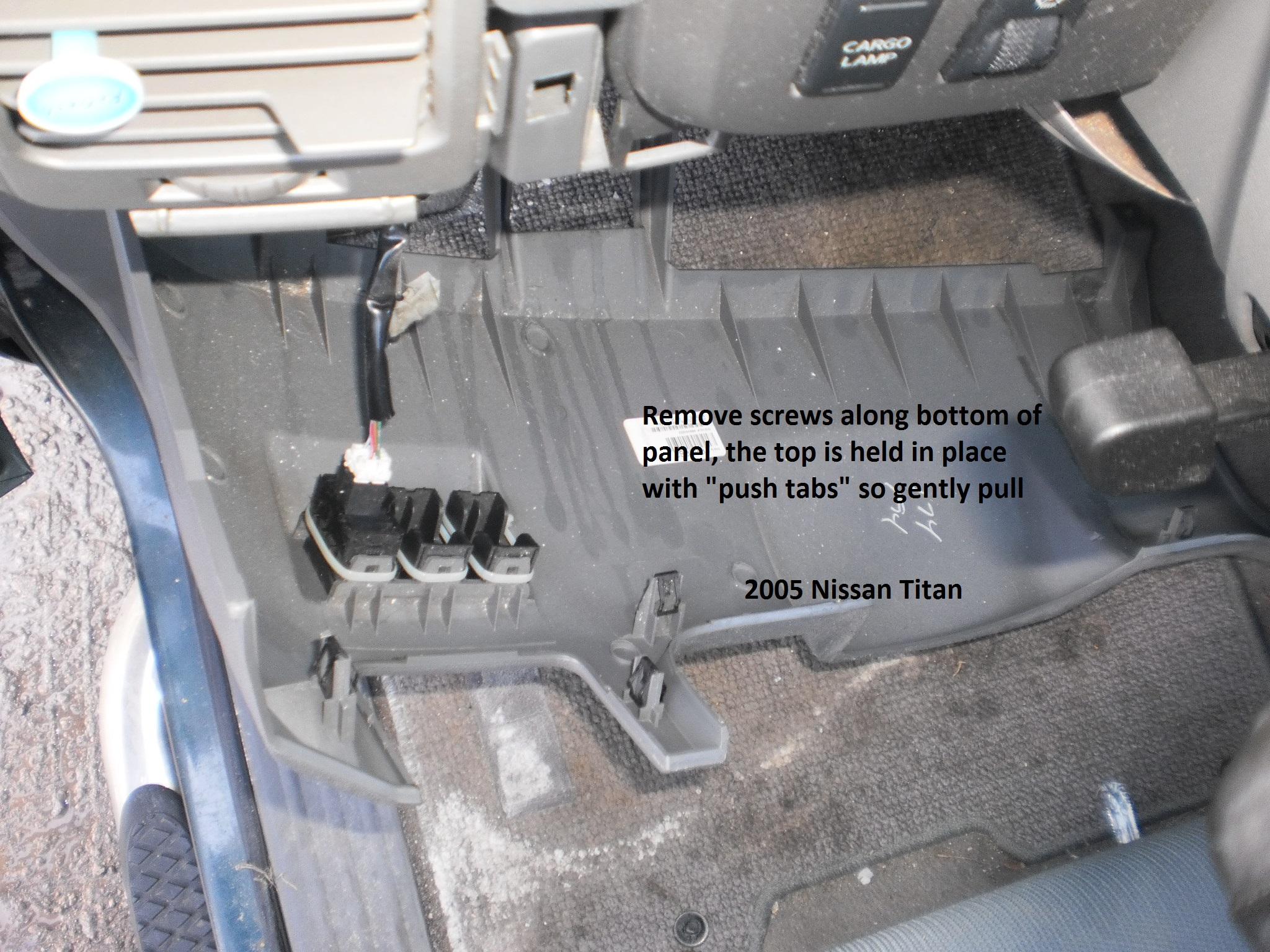 Nissan Titan Brake Controller Installation Instructions