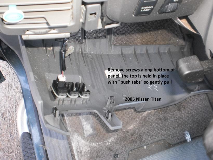 nissan titan trailer harness    nissan       titan    brake controller install     nissan       titan    brake controller install