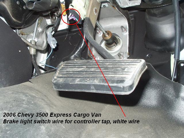 2006 chevy express van brake controller installation. Black Bedroom Furniture Sets. Home Design Ideas