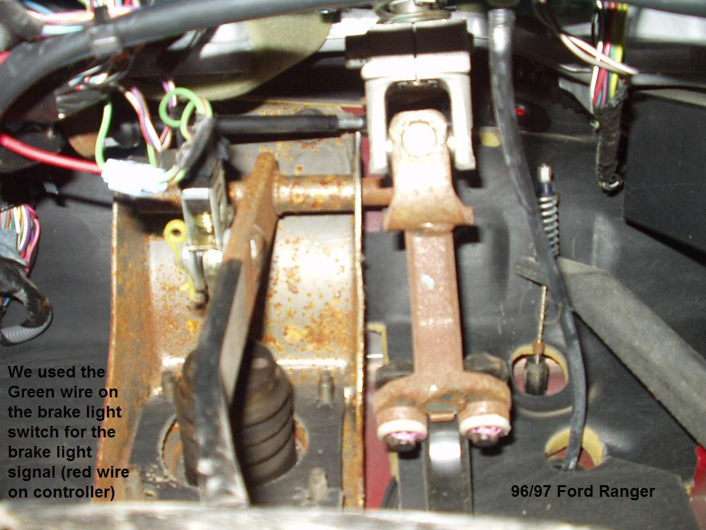 1996 Ford Ranger Brake Controller Installation Trailer Wiring Harness