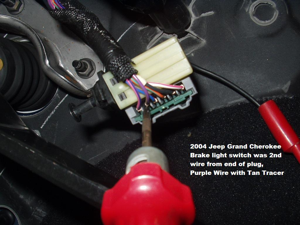 Jeep Wrangler Brake Light Switch Wiring Diagram