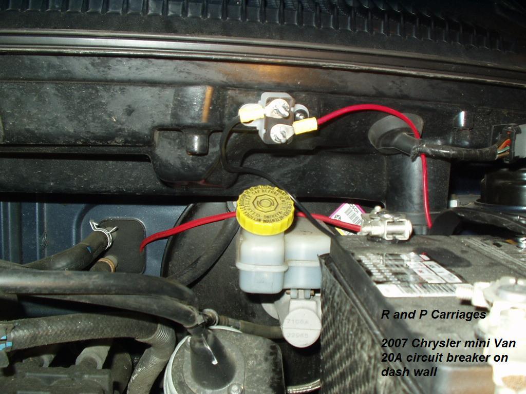 2005 Hemi Dodge Durango Trailer Brake Controller Install Fuse Box 2007 Chrysler Town And Country