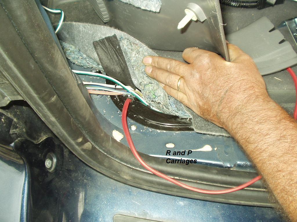 20142015 Dodge Durango Trailer Wiring Kit Tconnector Powered