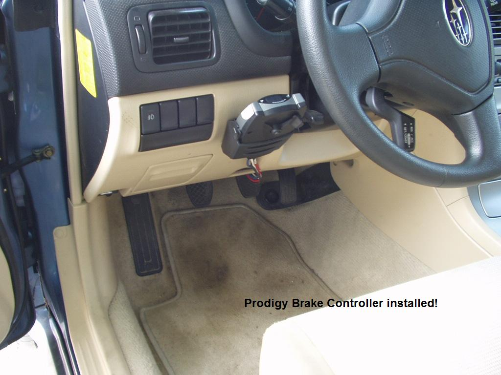 2006 Subaru Forester Brake Controller Installation Instructions Prodigy Wiring Install