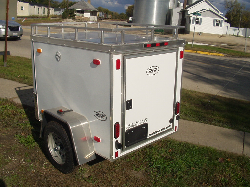 2009 R Amp R 5x8 Trailer R And P Carriages