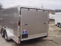 Interstate 7 X 14 Sturgis Edition Enclosed V Nose Cargo