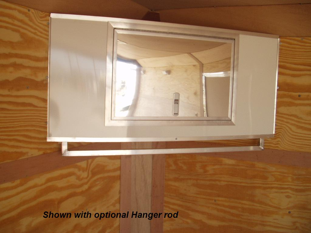 R And P Carriages Enclosed Trailer Cabinet Options
