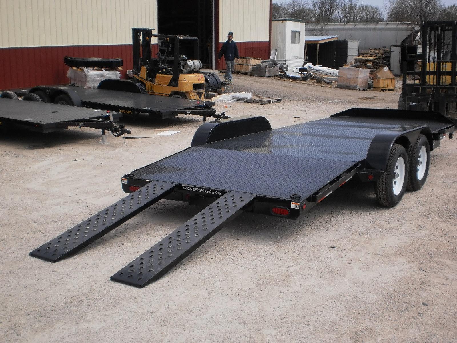 Car Sales Express >> Sure Trac Steel Deck Car Hauler