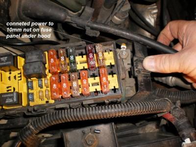 1999 Jeep Grand Cherokee Brake Controller Installation