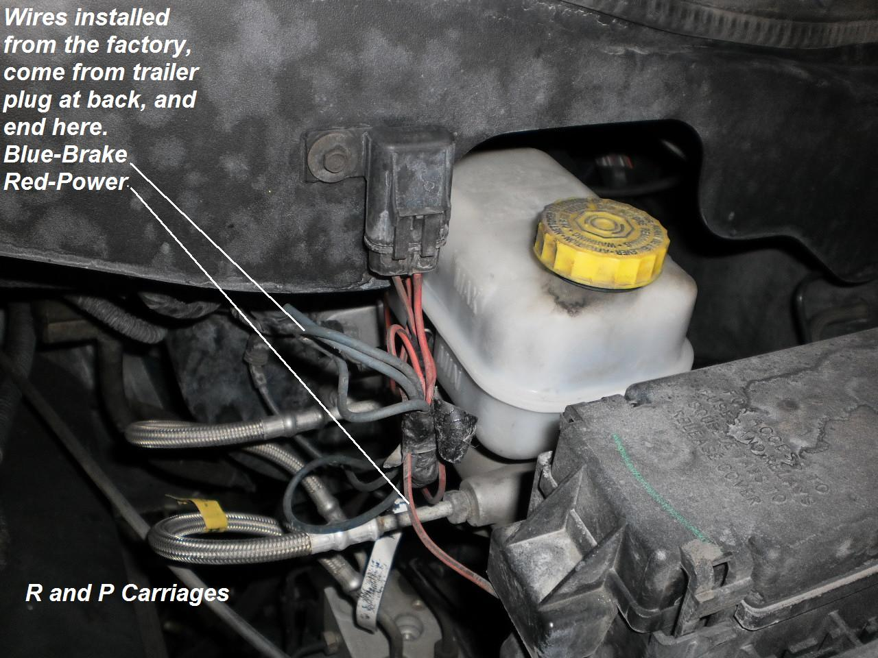 2005 Hemi Dodge Durango Trailer Brake Controller Install Wiring